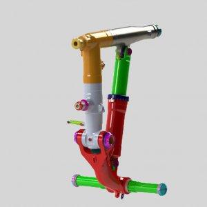 Комплект агрегатов шасси Ан-140