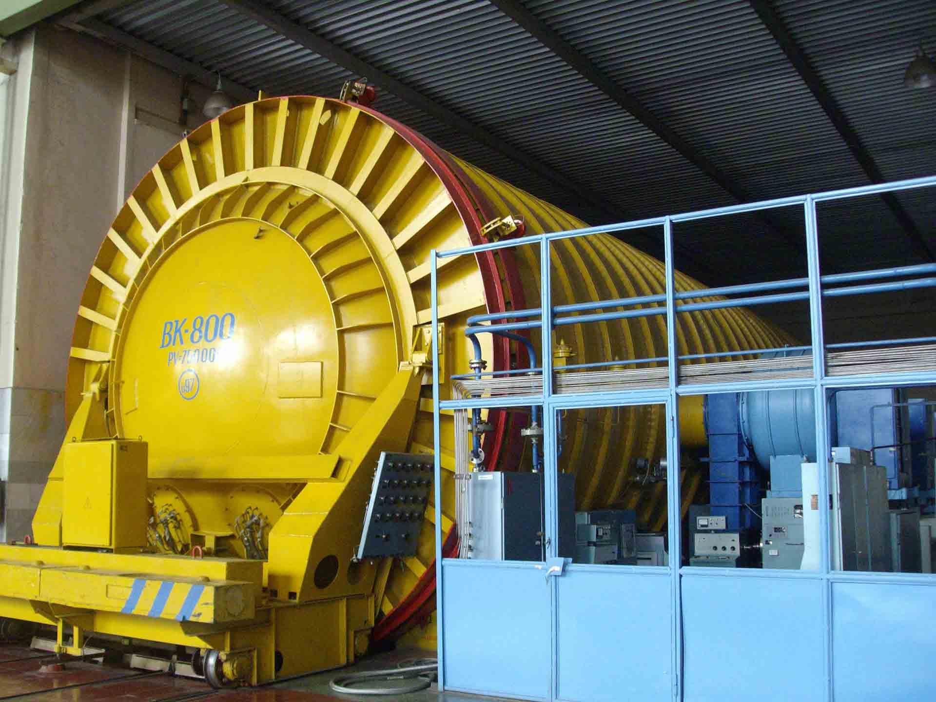 Випробування ємкостей та агрегатів  на міцність і герметичність
