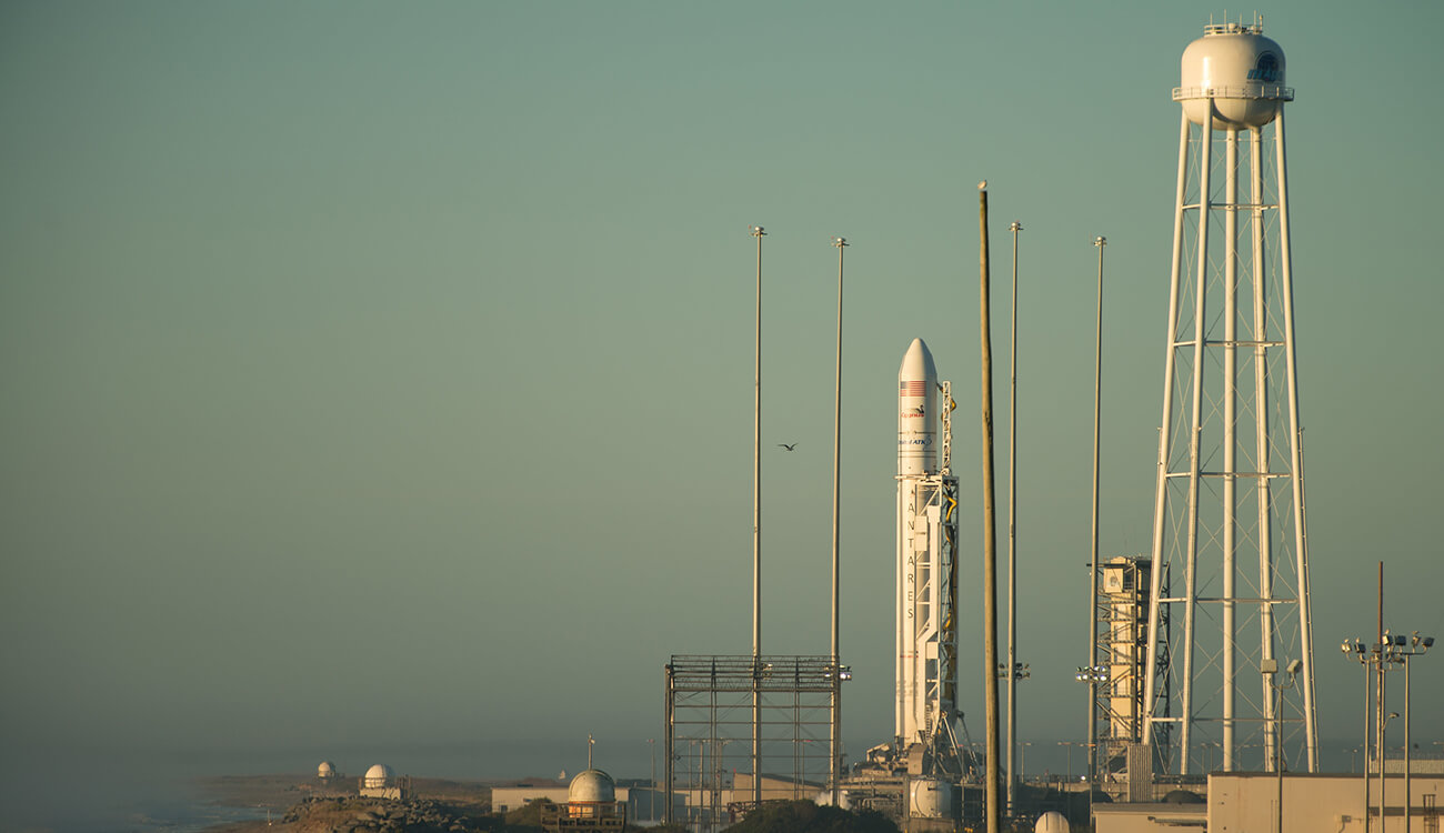 Eleventh launch of the Antares launch vehicle