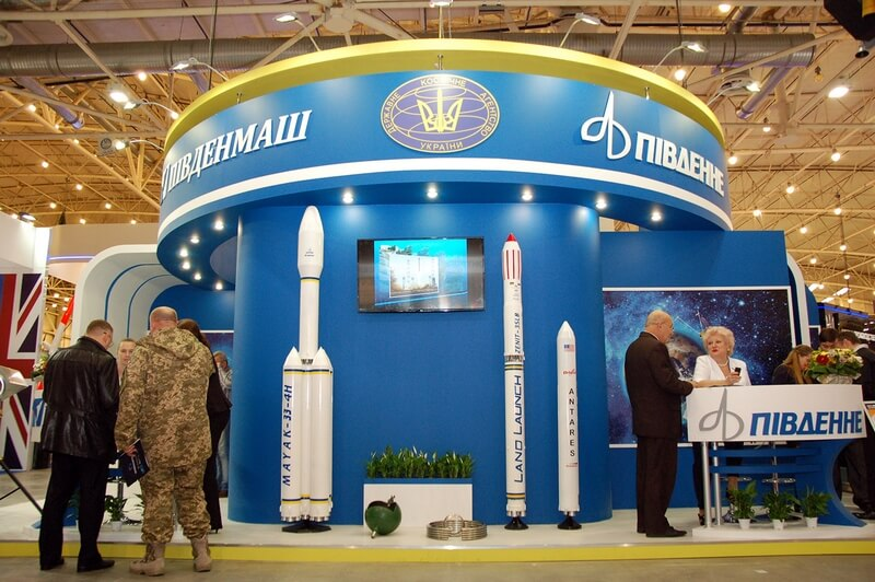 "YUZHMASH took part in the X International Aviation and Space Salon ""AVIASVIT - ХХІ"""