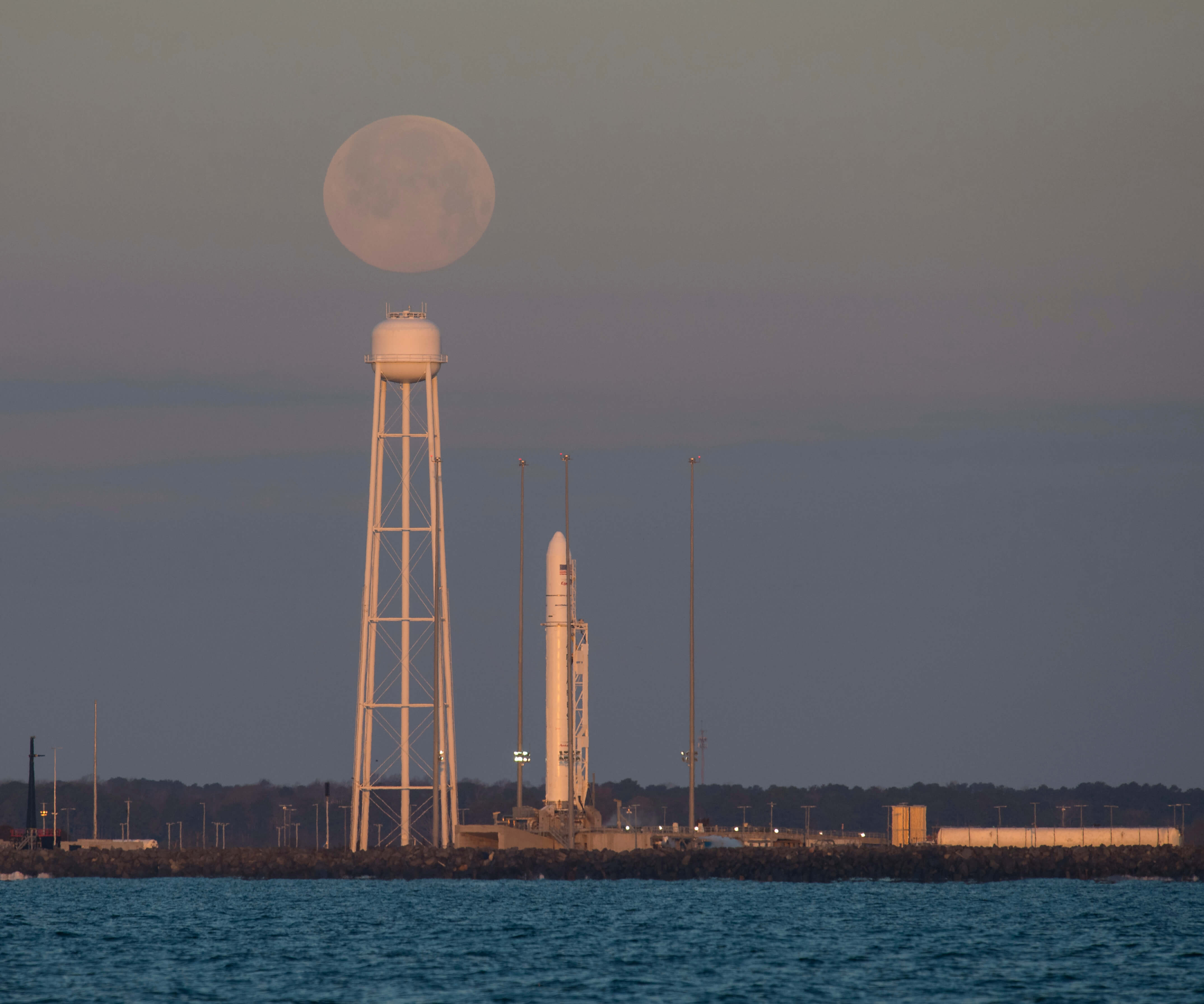 Successful launch of Antares