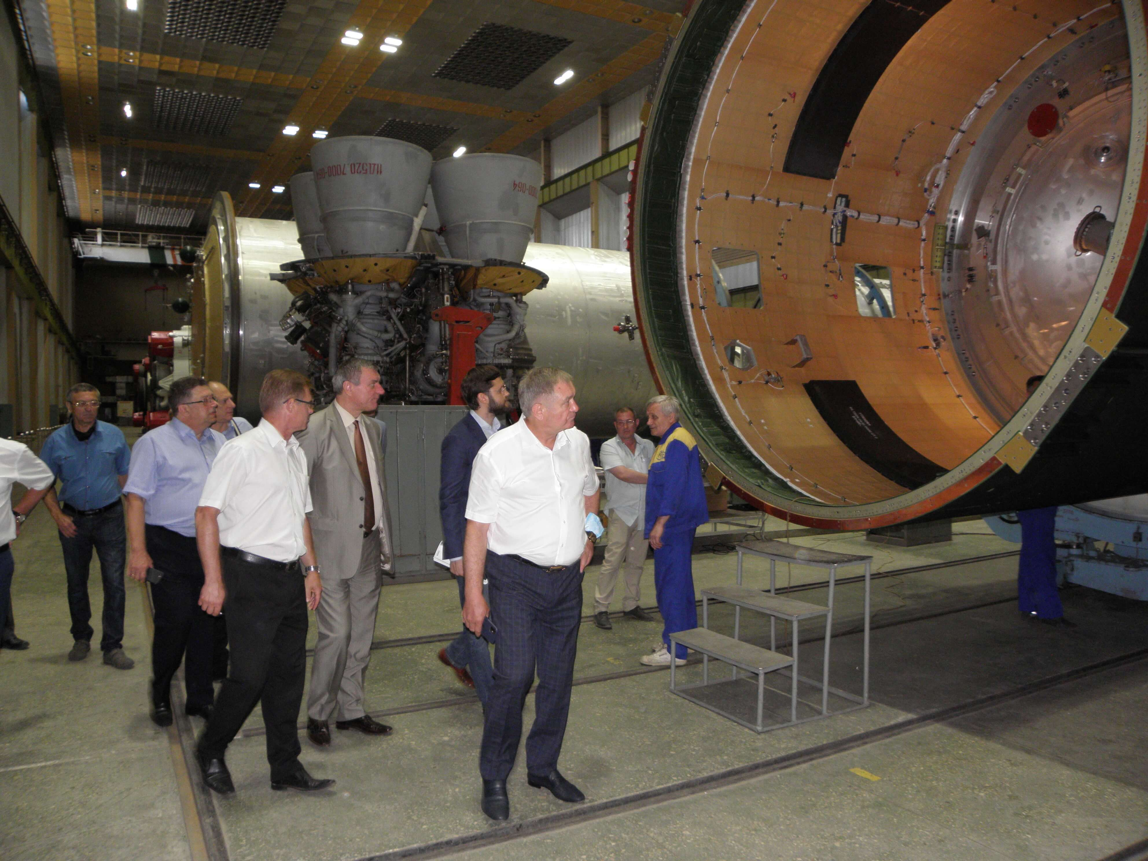 Visit of the Vice Prime Minister - Minister for Strategic Industries of Ukraine