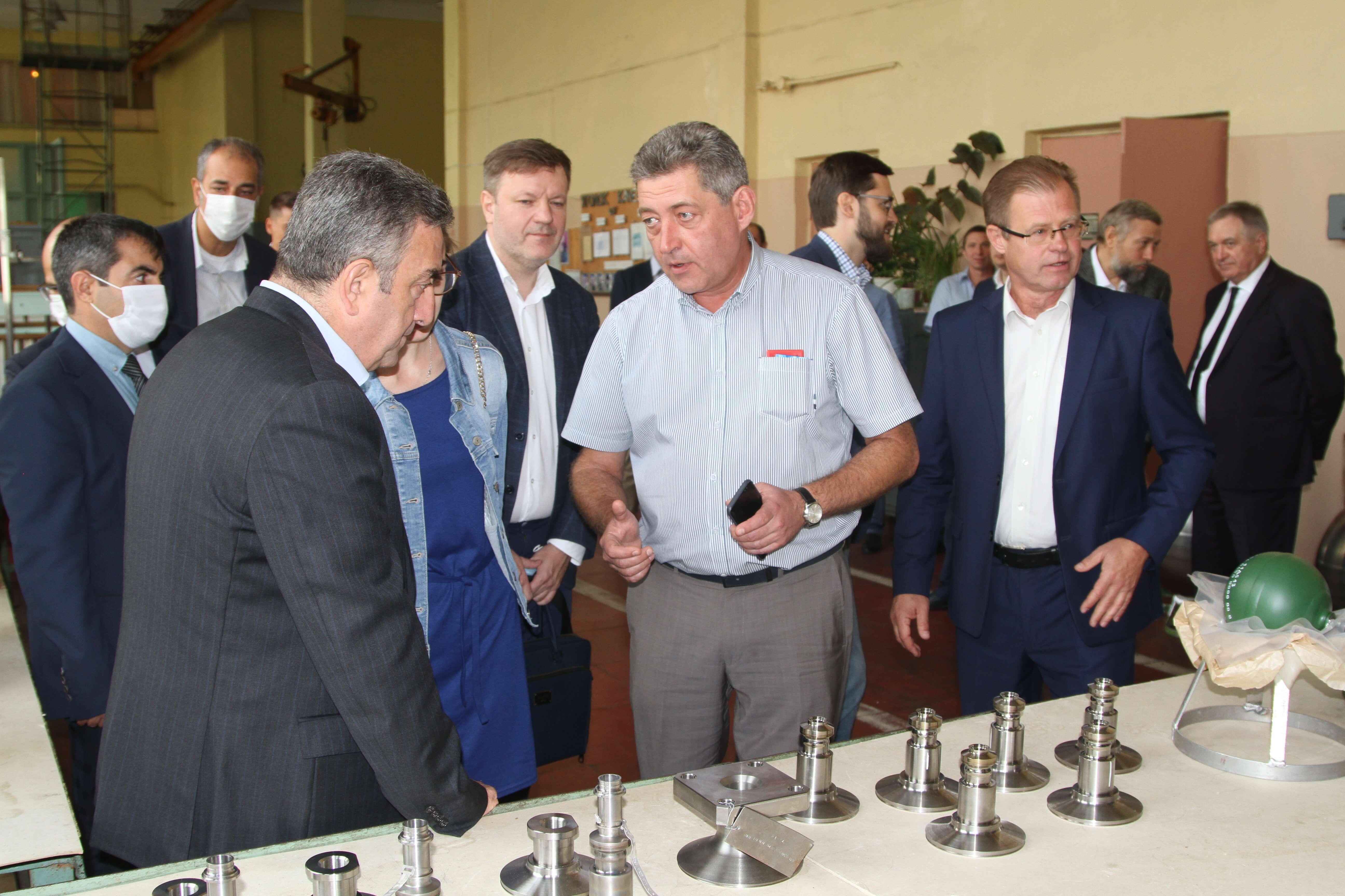 Візит делегації Турецького космічного агентства