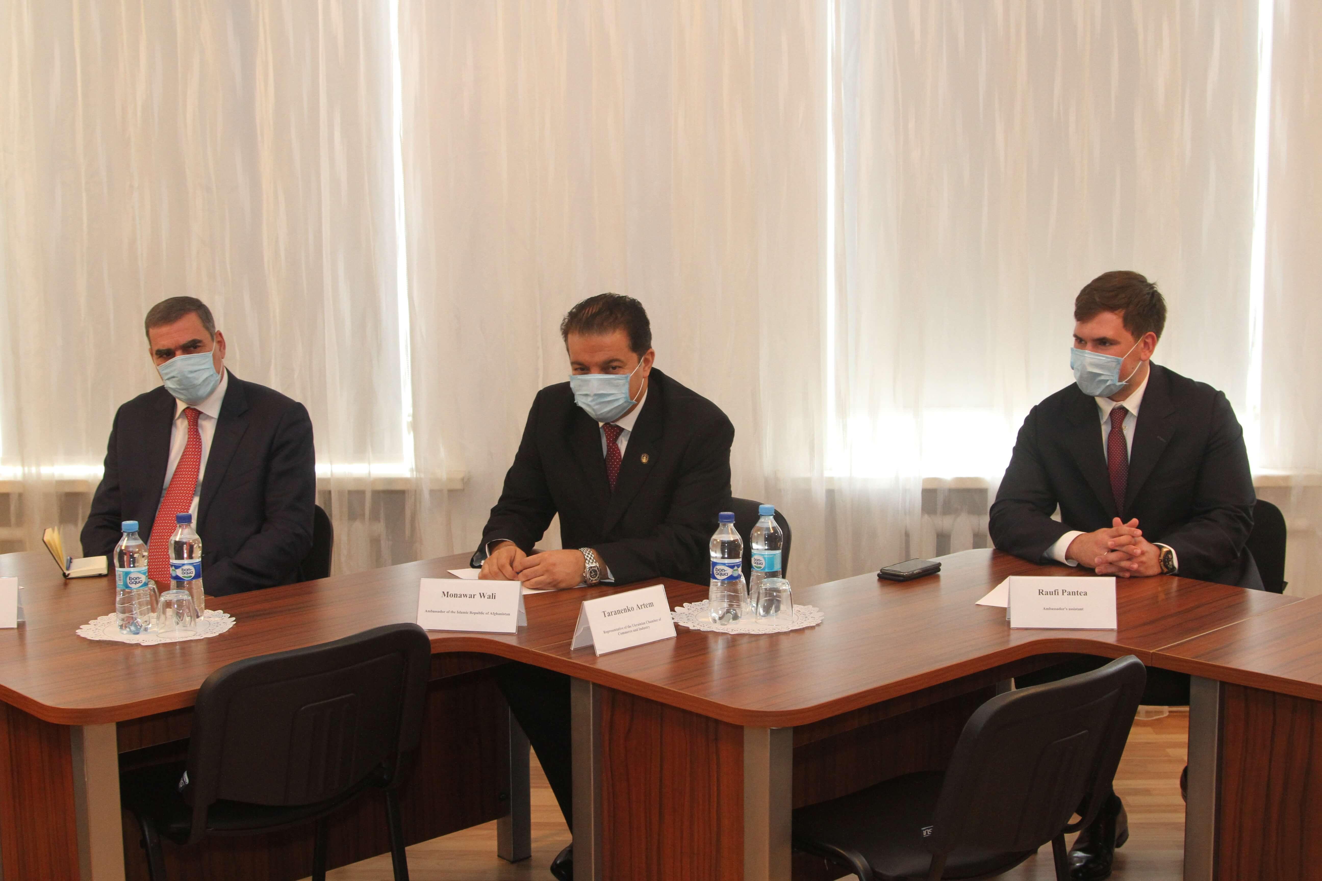 Визит Чрезвычайного и Полномочного Посла Исламской Республики Афганистан в Украине