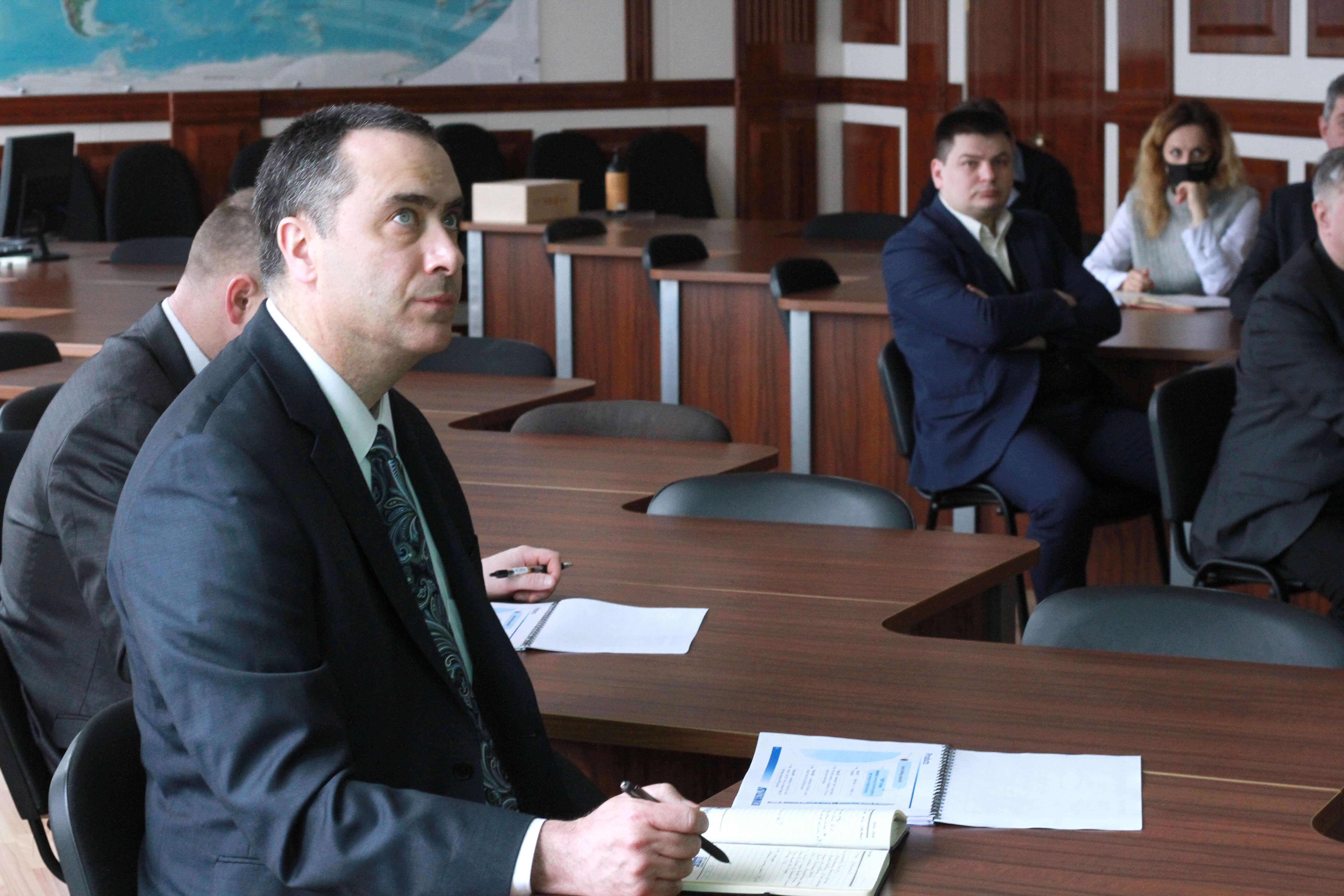 Визит представителей Посольства США в Украине