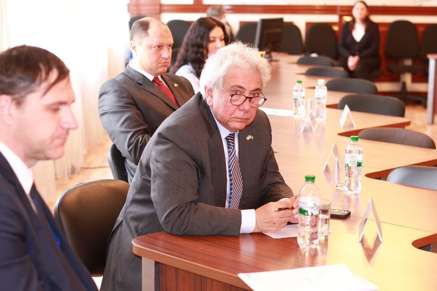 Visit of the Ambassador Extraordinary and Plenipotentiary of the Federative Republic of Brazil in Ukraine