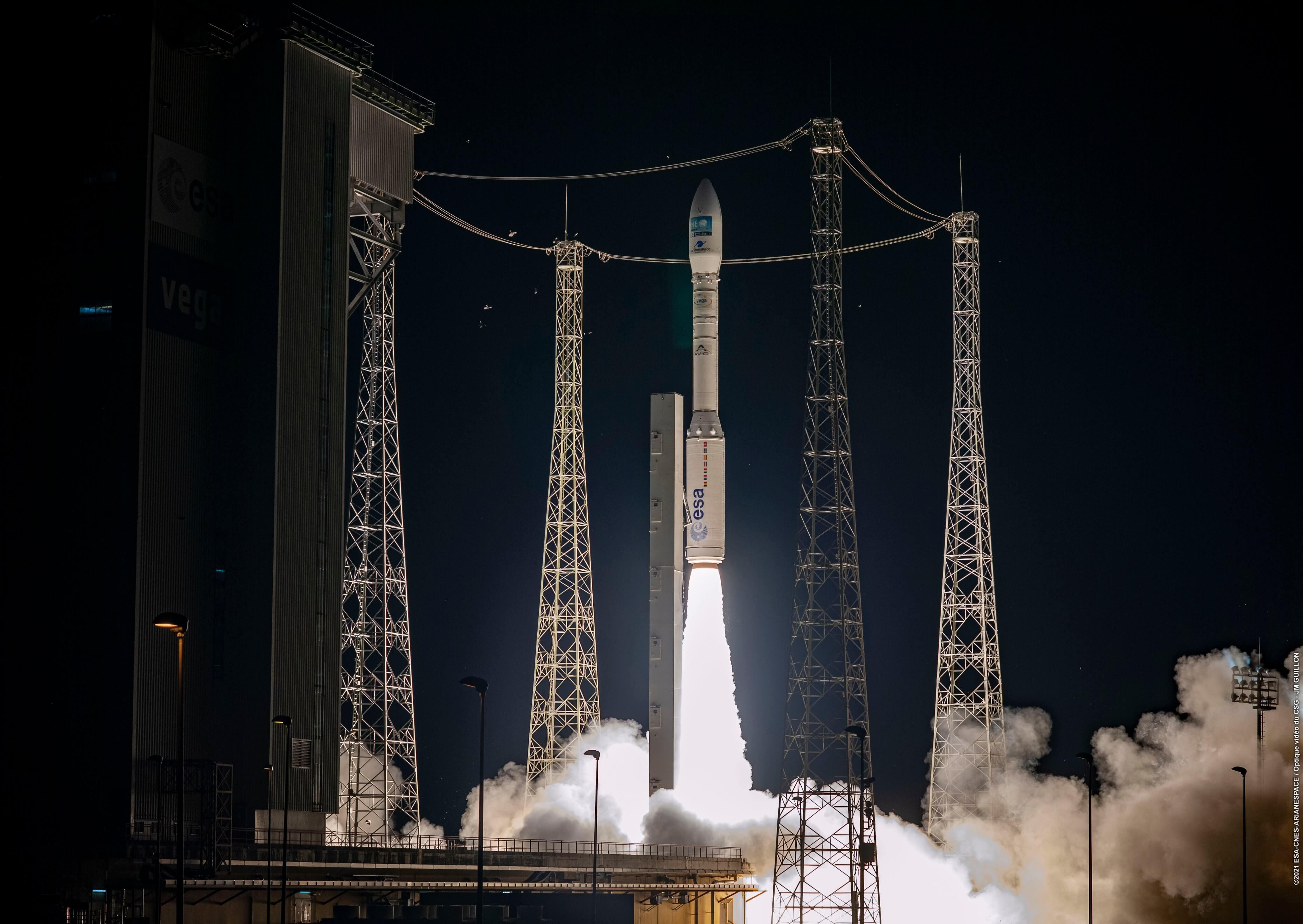 Successful launch of the Vega LV